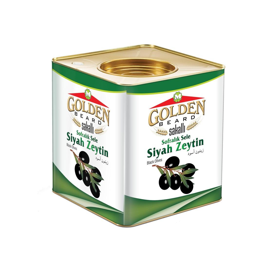 Golden Sofralık Siyah Zeytin 10 kg